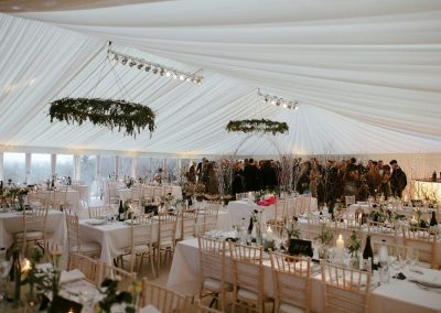 NYE Wedding supplied by Blast Event Hire