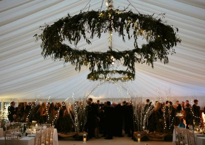 Beautiful Wedding In Marquee