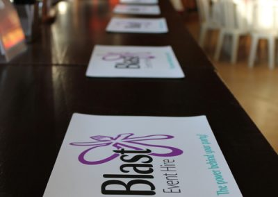 Blast Event Hire Bar Mats