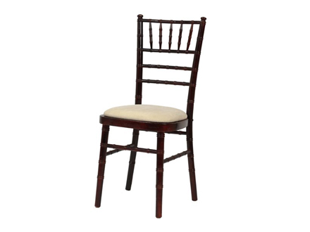 hire a chiavari chair mahogany ivory pad chairs furniture and