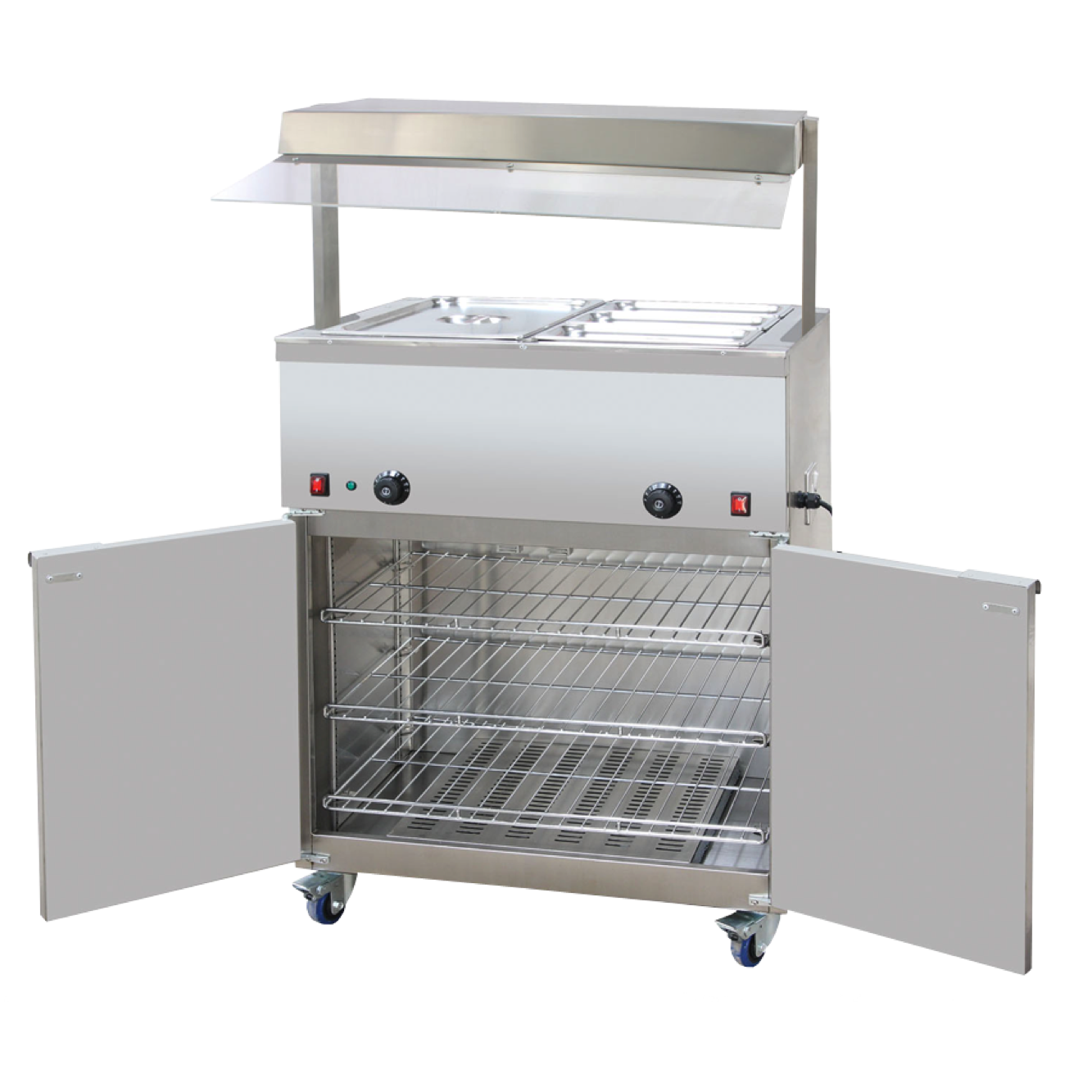 Hire a Hot Cupboard Small - Heated Gantry & Bain Marie - Catering ...