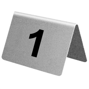 Hire Table Numbers