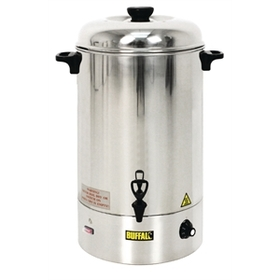 hire a buffalo electric water boiler 10 litre capacity catering equipment electric blast. Black Bedroom Furniture Sets. Home Design Ideas