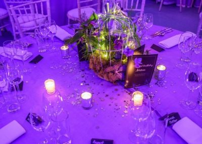 Table Decorated for an Event