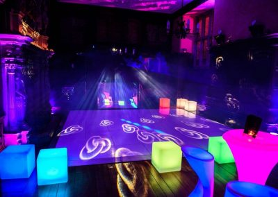 LED Furniture at an event