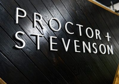 Proctor & Stevenson Launch Party